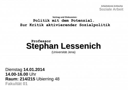 lessenich.Plakat 2014